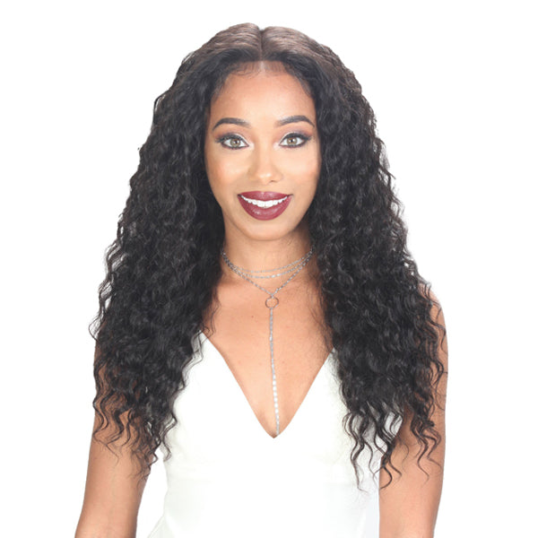 Zury Hollywood Unprocessed Hair Custom 360 Whole Lace Wet & Wavy Wig - DEEP WAVE