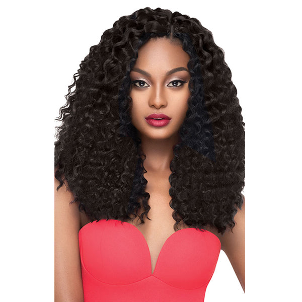 Outre X-Pression Crochet Braid - DEEP WAVE LOOP 14""