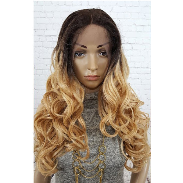 Wig Factory Spring Collection Human Hair Blend Full Lace Wig - LAH DIANA