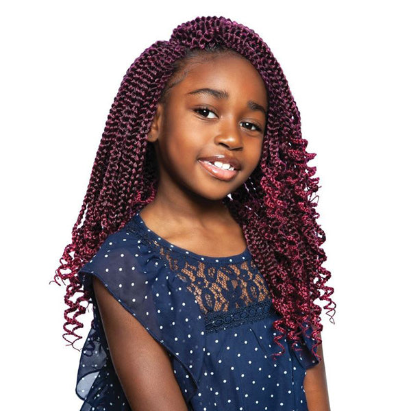 ISIS Afri-Naptural Pre - Stretched Kids Box Crochet Braid- KBOXO3 DOLLY 12""