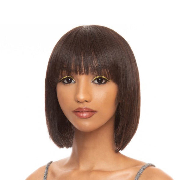 The Wig Black Pink 100% Brazilian Virgin Remy Full Wig - HHBW DREAM GIRL