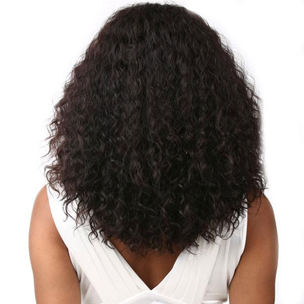 Sensationnel 100% Brazilian Remi Bare & Natural 4X4 Swiss Lace Wig - DEEP CURLY