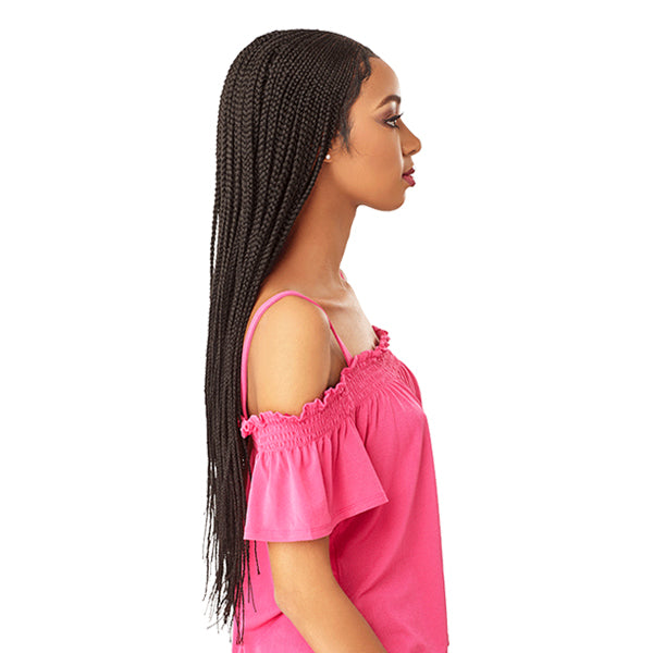 Sensationnel Cloud9 100% Hand - Braided 13X5 Parting Swiss Lace Wig - FULANI CORNROW