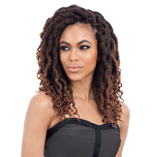 Freetress Synthetic Pre - Looped Crochet Braid - 2X CUBAN WAVY GORGEOUS LOC 12""