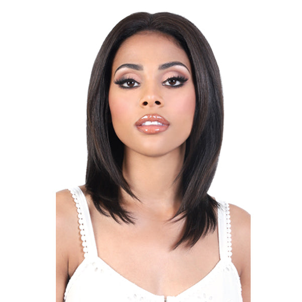 Motown Tress Natural & Blonde 100% Remy Human Hair 13X2 Lace Front Wig - HNBL3 MIZ