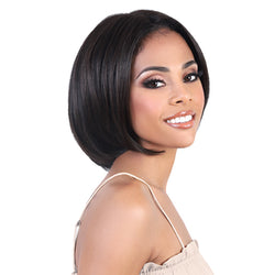 Motown Tress Natural & Blonde 100% Remy Human Hair Lace Wig - HNBLP PAT