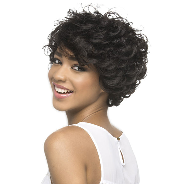 Vivica A Fox 100% Brazilian Natural Remi Human Hair Full Wig - IGNES