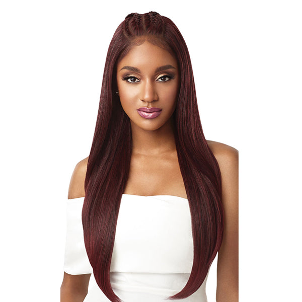 Outre Perfect Hairline 13X6 Hand-tied Synthetic Swiss Lace Front Wig - IMAN