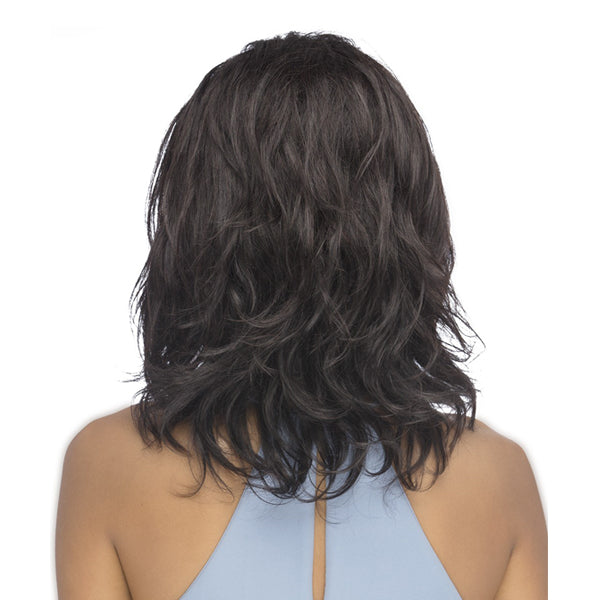 Vivica A Fox 100% Natural Brazilian Remi Hair Full Swiss Lace Wig - IWANA
