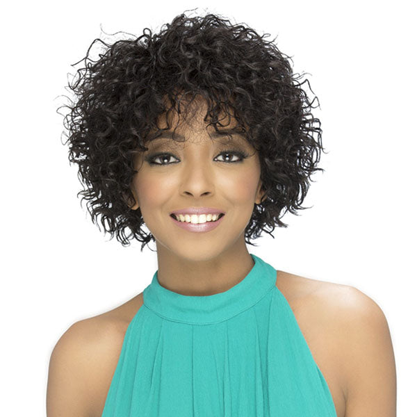 Vivica A Fox 100% Brazilian Natural Remi Human Hair Full Wig - JASPER