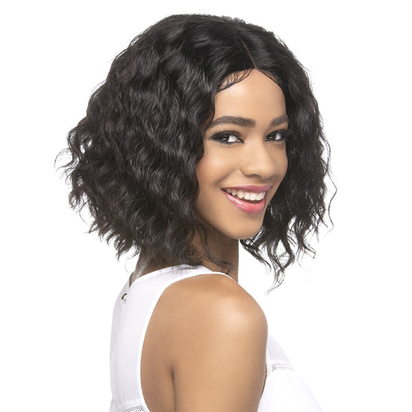 Vivica A Fox 100% Natural Brazilian Remi Hair Swiss Lace Front Wig - KAMILL