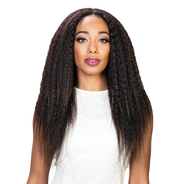 Zury Only 100% Unprocessed Brazilian Remy Hair Multi Bundle + Closure - KINKY STRAIGHT