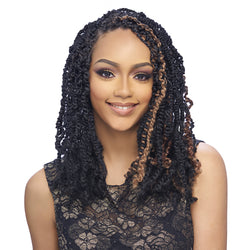 Harlem 125 KIMA Collection Synthetic Braiding Hair - KST08 SPRING TWIST 8""