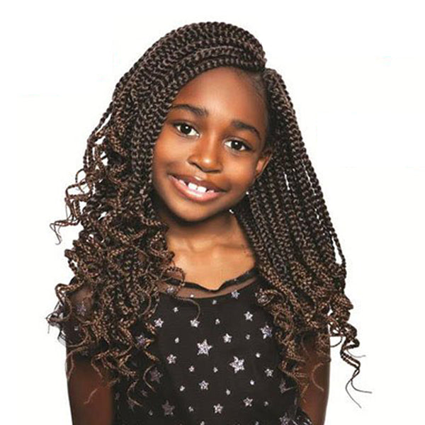 ISIS Afri-Naptural Pre - Stretched Kids Box Crochet Braid- KBOXO2 LOVELY 12""
