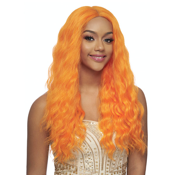 Harlem 125 Swiss Lace Collection Multi - Parting Synthetic Wig - LSD31