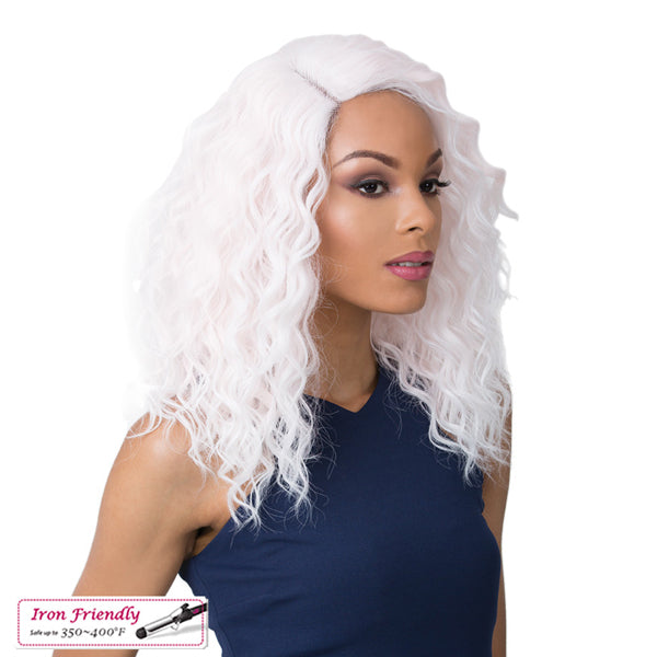 It's a Wig Synthetic Swiss Lace Front Wig - SWISS LACE MARINA