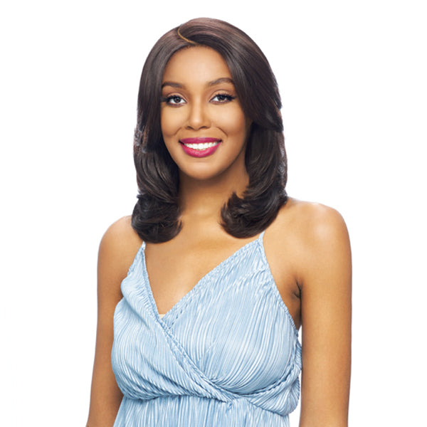 Vanessa Tops Middle C-Side Part Swiss Silk Lace Front Wig - TOPS MC-ATIAN