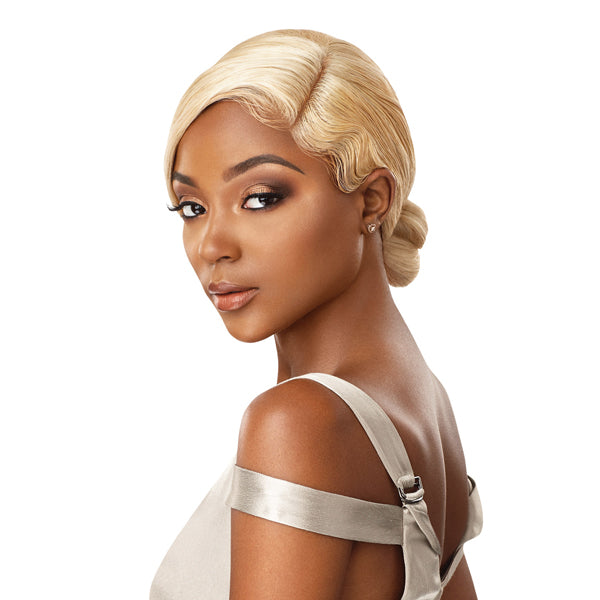 Outre My Tresses Platinum Label 100% Virgin Hair 360 Lace Front Wig - NATURAL WAVE 22""