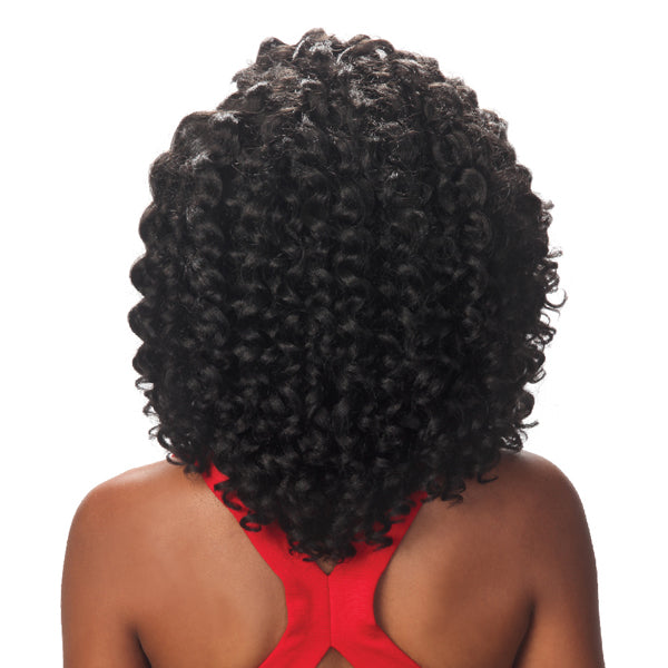 Zury Hollywood Naturali Star V Synthetic Lace Front Wig - NAT V LACE GOGO CURL