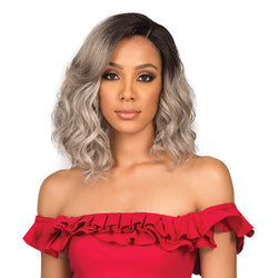 "Bobbi Boss Premium Synthetic 5"" Hand tied Lace Part Full Wig - MLP0012 NYA FAITH"