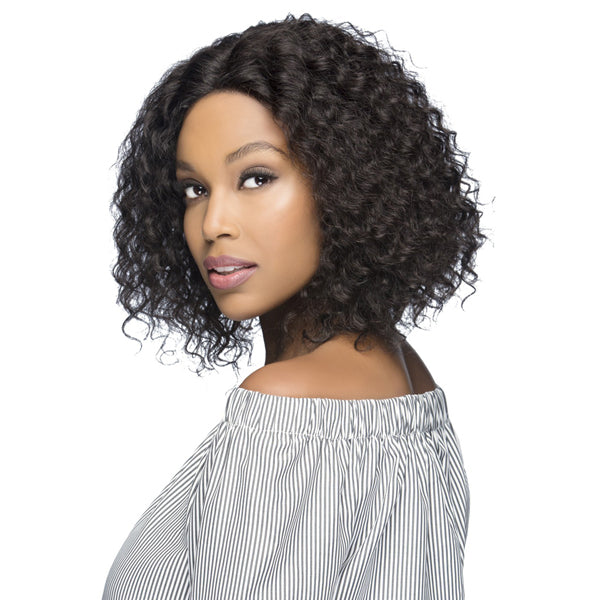 Vivica A Fox 100% Natural Brazilian Remi Hair Swiss Lace Front Wig -OASIS