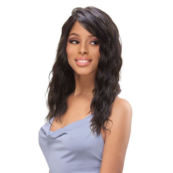Sensual Vella Vella Virgin Remi Hand-tied Whole Lace Wet & Wavy Wig - OCEAN WAVE 18""