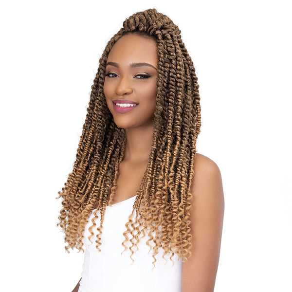 Janet Collection Nala Tress Synthetic Crochet Braid - PASSION TWIST 18""