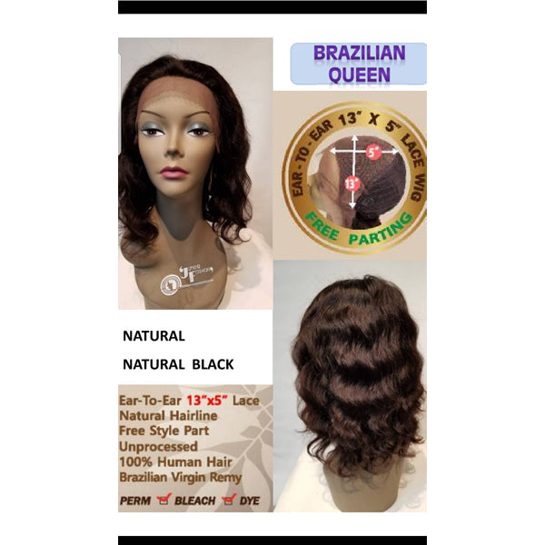 Junee Fashion Virgin Remy 100% Human Hair Wig - Brazilian Queen