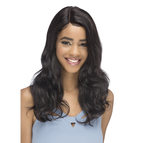 Vivica A Fox 100% Natural Brazilian Remi Hair 360 Swiss Lace Wig -SALIDIA