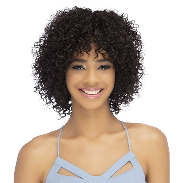 Vivica A Fox 100% Brazilian Natural Remi Human Hair Full Wig - SHAD
