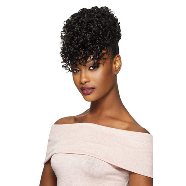 Outre Timeless Synthetic Drawstring Pineapple Ponytail - SOFTIE