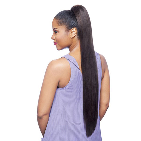 Vanessa Express Curl Synthetic Drawstring Ponytail - STB COGIC