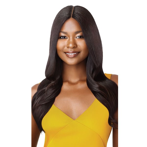 Outre The Daily Wig Unprocessed Human Hair Lace Part Full Wig - STRAIGHT V-CUT 22""