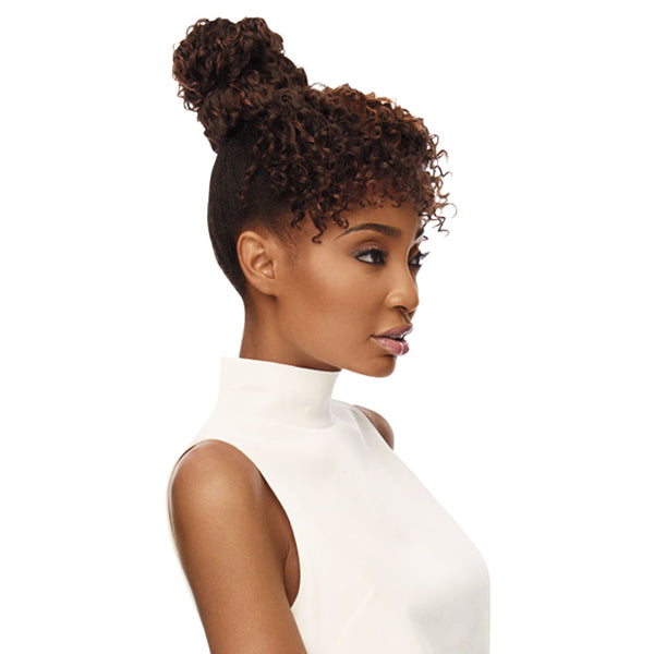 Outre Quick Pony Bang x Bun Synthetic Ponytail - TAMARA