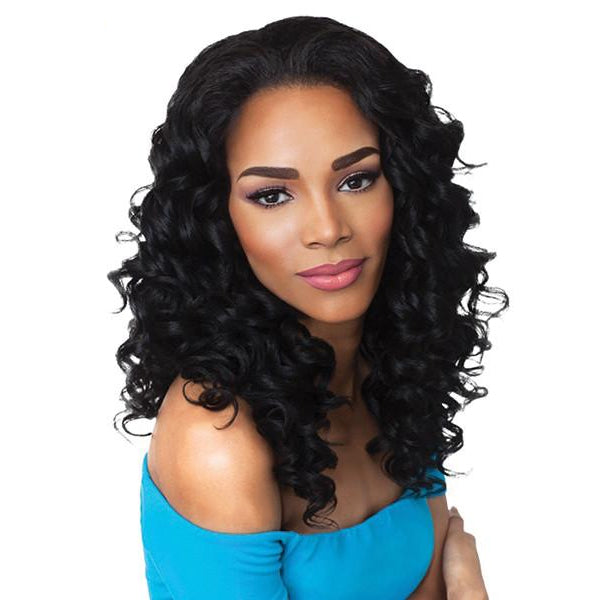 Outre Quick Weave Synthetic Half Wig - HAWAIIAN