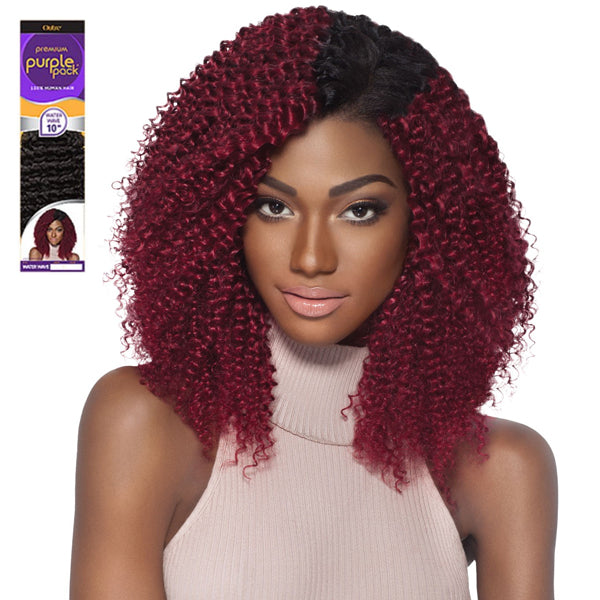 Outre Premium Purple Pack Human Hair Weave - WATER WAVE