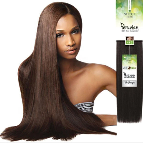 "Sensationnel 100% Remi Human Hair Select Peruvian Yaky Straight 10""S  24""(BOGO)"