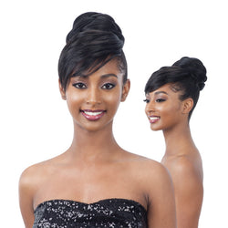 Free Tress EQUAL Bun & Bang Synthetic Hair - TWISTED BUN BANG