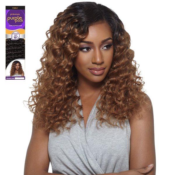 Outre Premium Purple Pack Human Hair Weave - HAWAIIAN WAVE