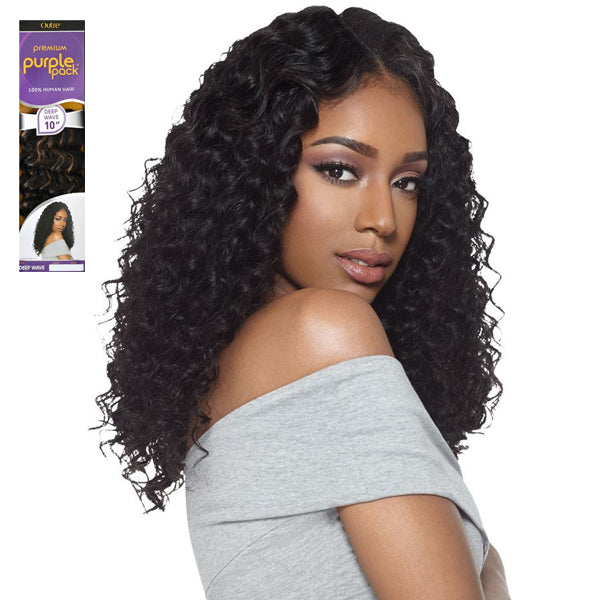 Outre Premium Purple Pack Human Hair Weave - DEEP WAVE