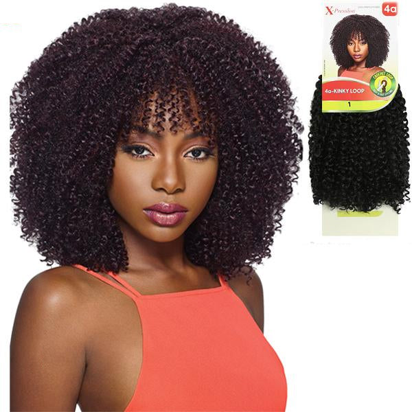 Outre X-pression Crochet Braid - 4A KINKY LOOP