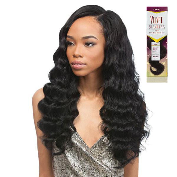 Outre 100% Remi Human Weaving Hair - Velvet Inner Vixen  Brazilian Beach Wave