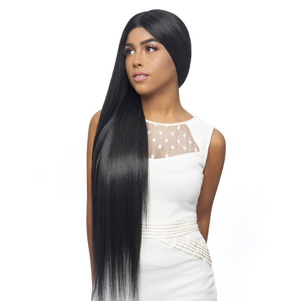 Harlem 125 Kima Collection Synthetic Deep Part Lace Front Wig - KLW22