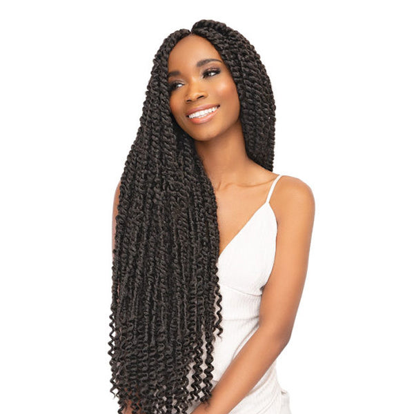Janet Collection Nala Tress Synthetic Braid - PASSION TWIST 24""