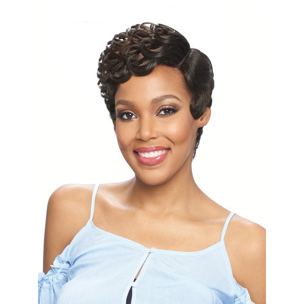 Vanessa Party Lace Deep Reverse J - Part Synthetic Full Wig - DRJ JESLI