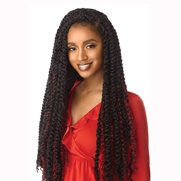 Outre X-pression Twisted Up Passion - BOHEMIAN CURL 24""