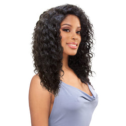 Sensual Vella Vella Virgin Remi Hand-tied Whole Lace Wet & Wavy Wig - WATER CURL 18""