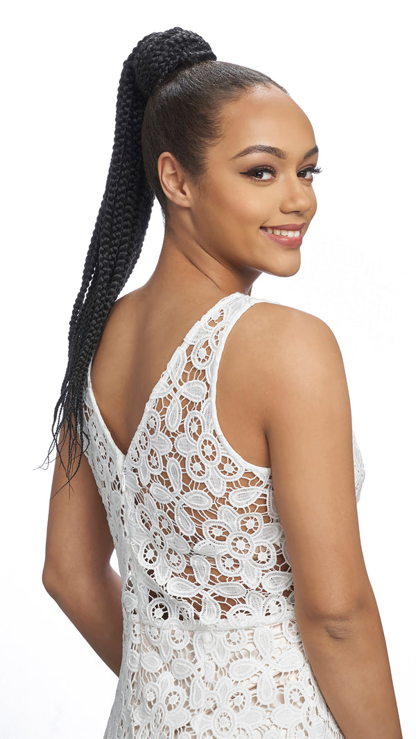 Harlem 125 Samba Synthetic Drawstring Ponytail - SAMBA 160