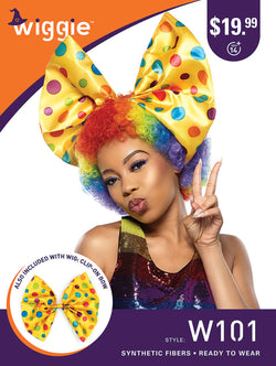 Sensationnel Halloween wigs Rainbow Afro Wiggie W101