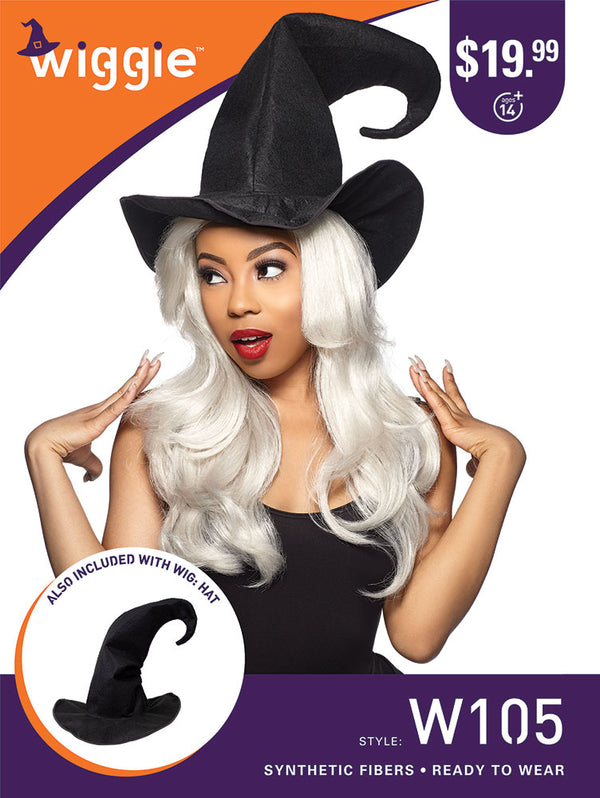 Sensationnel Halloween wigs Witch Wiggie W105